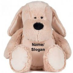 Personalised Zippie Dog Teddy Bear